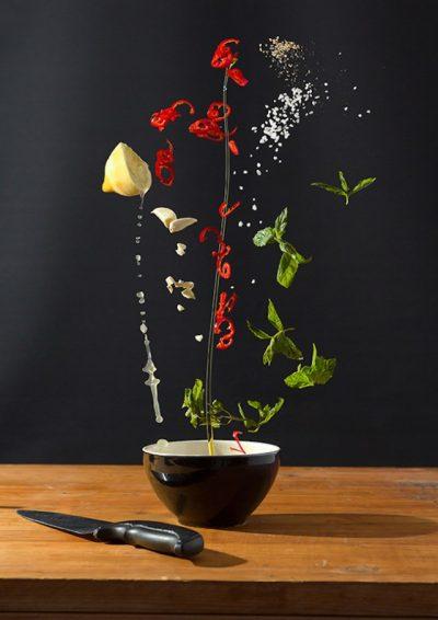 Концептуална фотография ни връща любовта към… добре приготвената храна