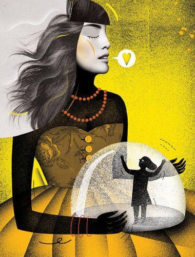 Дръзки експерименти и красиви разкази – илюстрациите на Agata Dudek