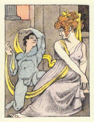 """Необикновените, чувствени илюстрации на Морис Сендак за """"Пиер"""" на Херман Мелвил"""