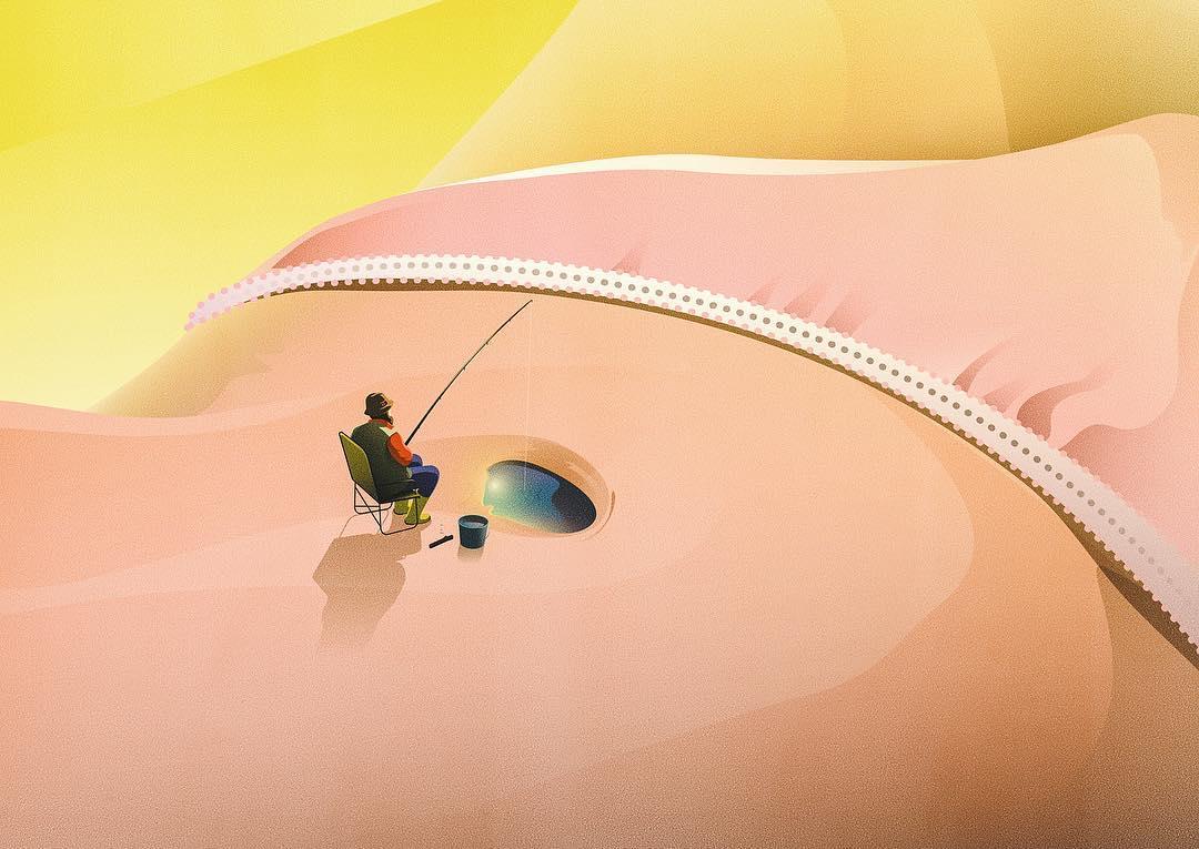 Между комикса и сюрреализма - илюстрациите на Jan Siemen