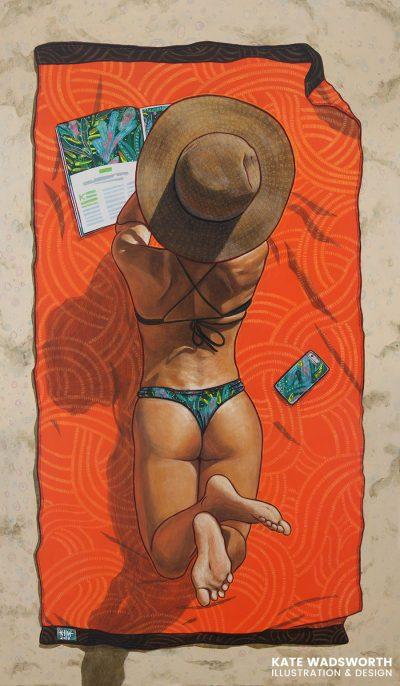 """""""28 лета"""" – в пъстрите платна на хавайския артист Kate Wadsworth"""