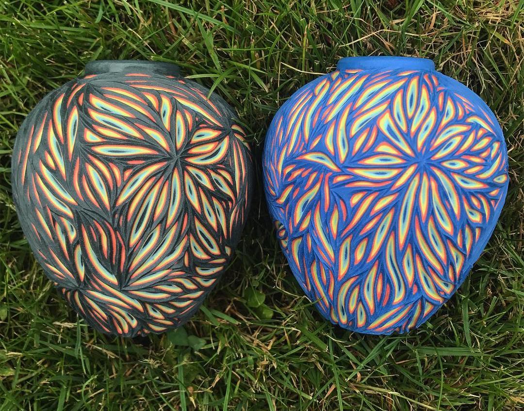 Многопластова красота - в керамиката на Sean Forest (снимки)