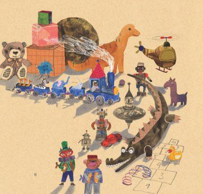 """Откъс (и приказни илюстрации) от """"Копче за сън"""" на Валери Петров"""