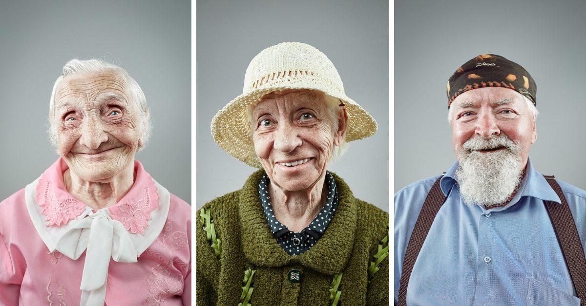 Усмивката не остарява (портрети)