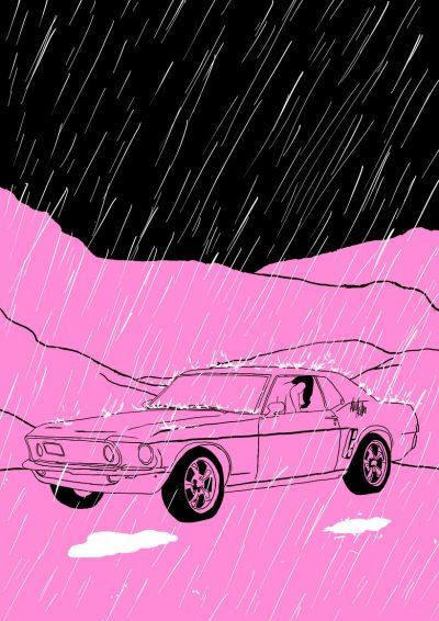 Спонтанността и удоволствието – в розовия, илюстрован свят на Alicia Rihko