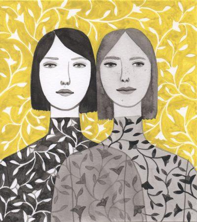 Женската сила и крехкост като начин на (себе)изразяване – в илюстрациите на Monica Garwood