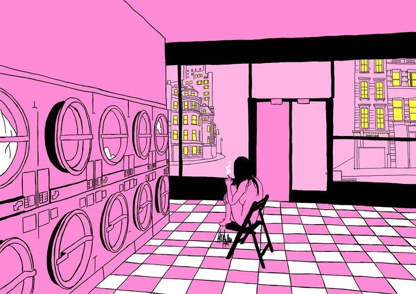 Спонтанността и удоволствието - в розовия, илюстрован свят на Alicia Rihko
