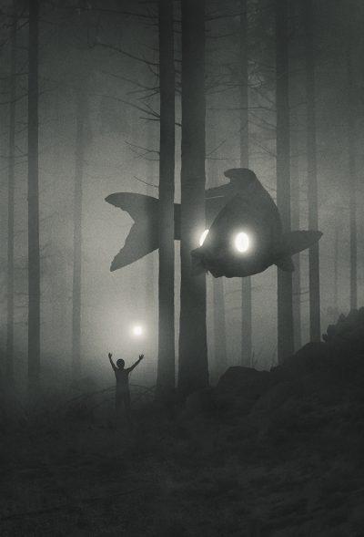 """Художник се бори с депресията като създава мистични светове, населени с """"малки хора"""" и приказни, гигантски същества"""