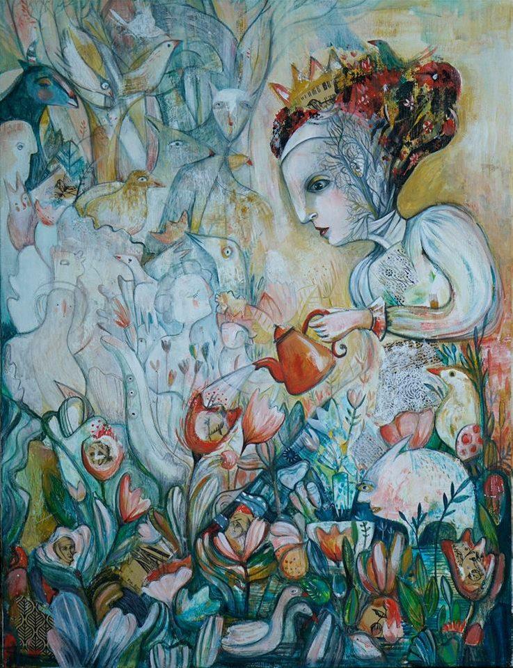 Изложба - живопис и графика на Лиляна Дворянова