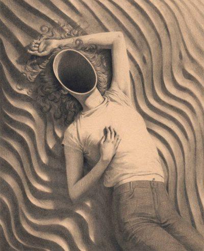 Жената като красив, неразгадаем ребус – в платната на Miles Johnston