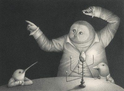 Антропоморфните животни на David Álvarez