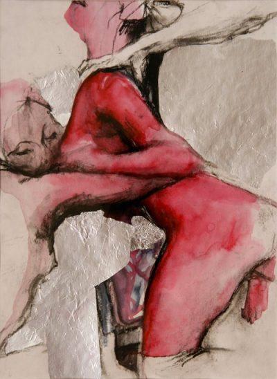 Със заряда на скиците на Егон Шиле: фигуративната живопис на Kati Verebics