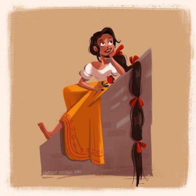 """Фолклор и фантазия: илюстраторка """"слива"""" мексиканските си корени с любими приказки"""