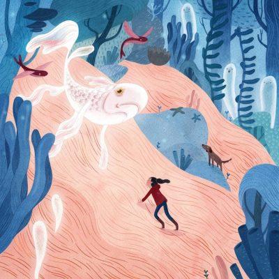 """Спомени и въображаеми същества – в добре """"разказаните"""" акварели на Vivian Mineker"""