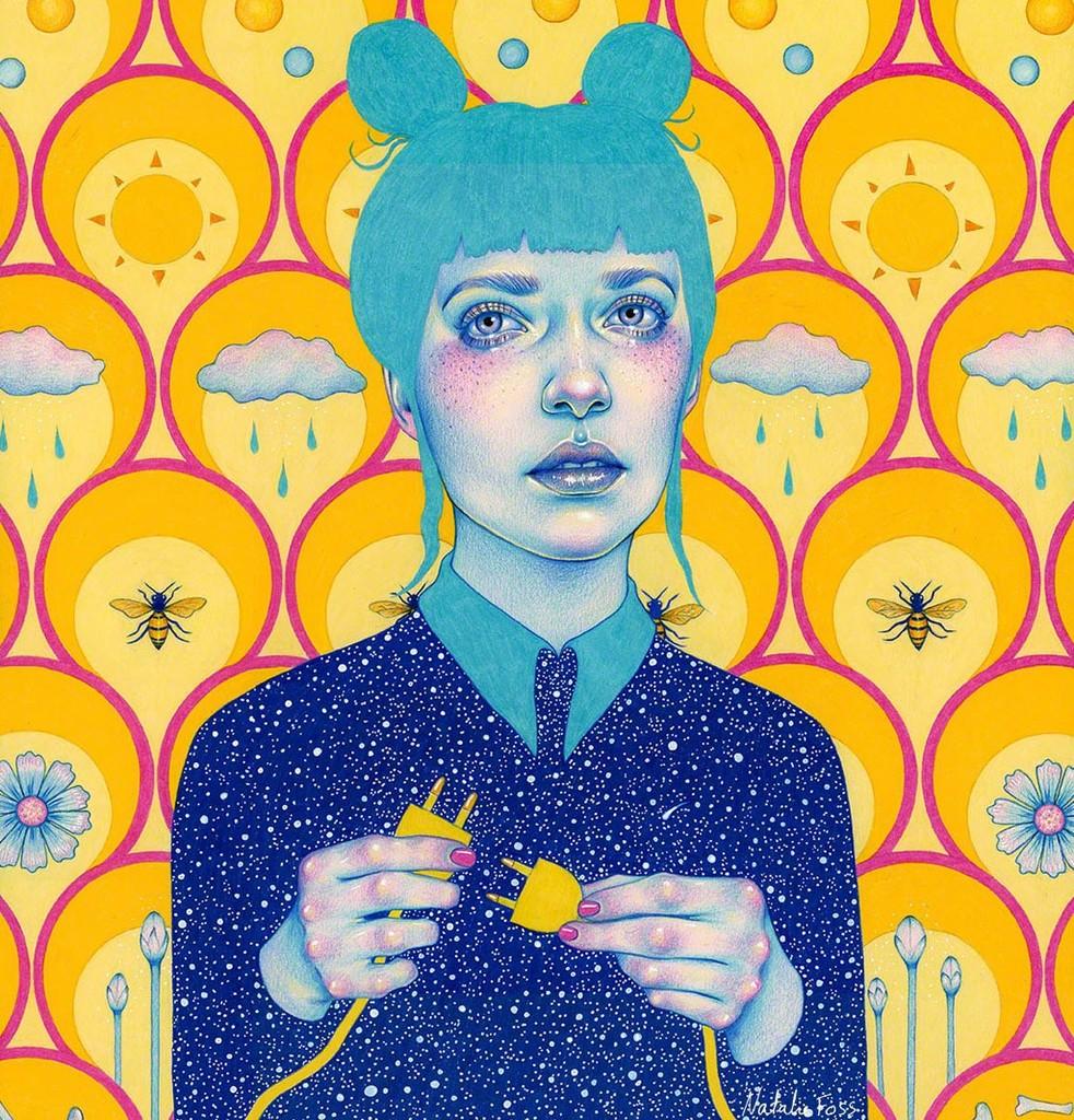удивителните, женски портрети на Natalie Foss