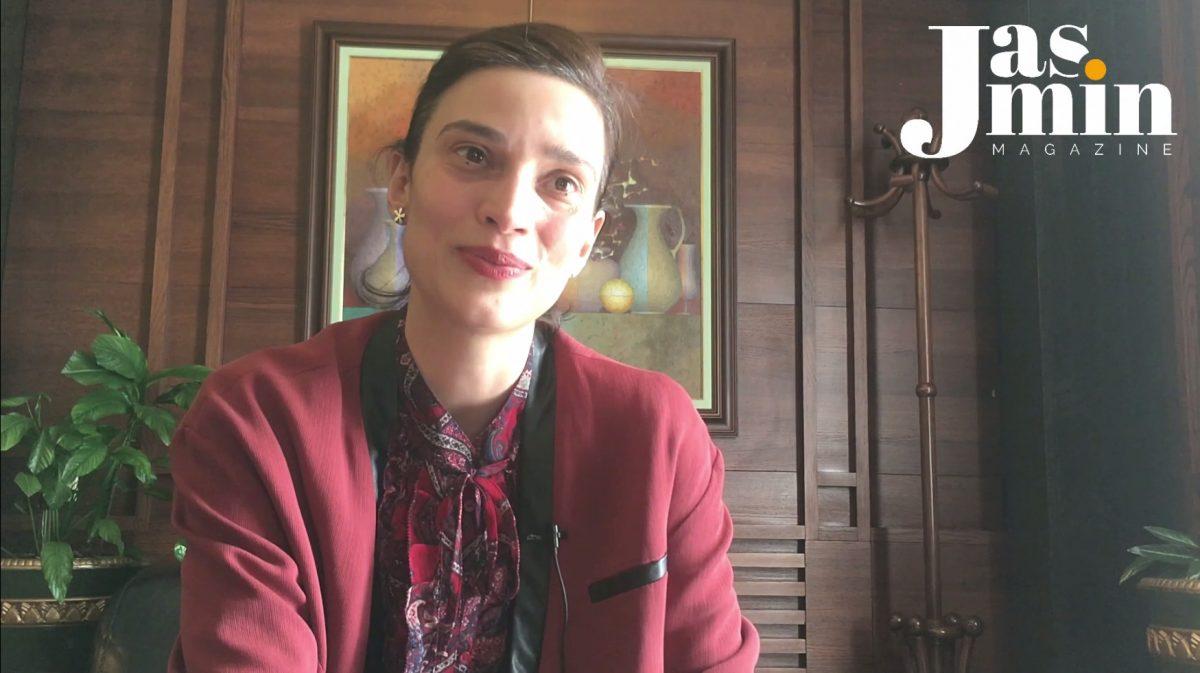 Ирмена Чичикова (кадър от видео интервю)