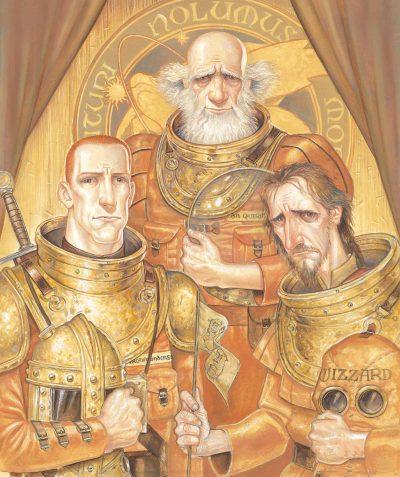 """Откъс от """"Последният герой"""" на Тери Пратчет (с цветните илюстрации на Пол Къдби)"""