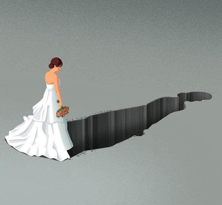 Отрезвяващи (но без прекален драматизъм) - илюстрациите на Stephan Schmitz