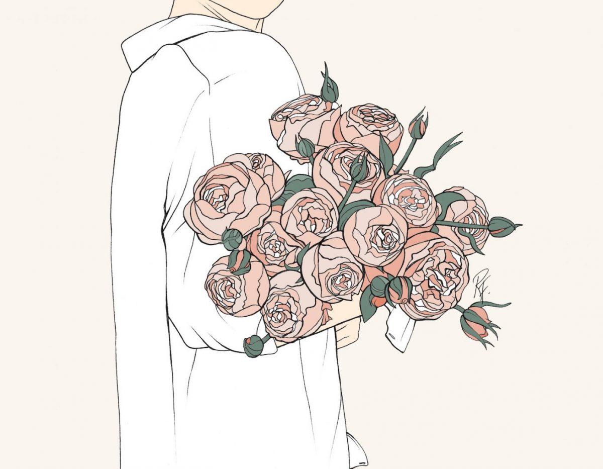 """Меки, пастелни тонове и """"твърди"""" момичета - в илюстрациите на Rebecca Flattley"""