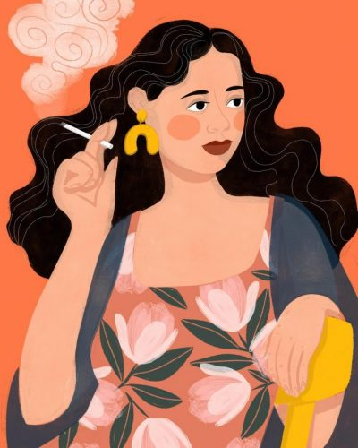 История, мода и фолклор – в деликатните илюстрации на Amy Blackwell