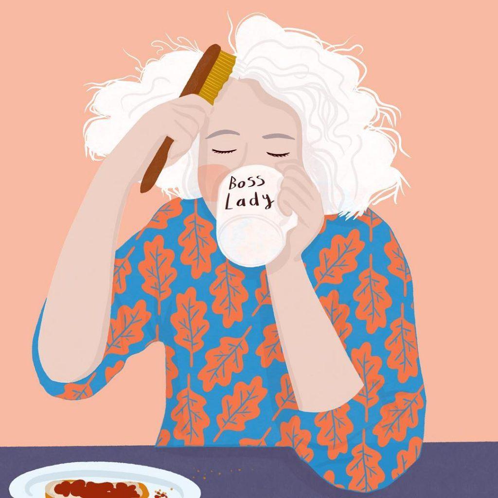 История, мода и фолклор - в деликатните илюстрации на Amy Blackwell
