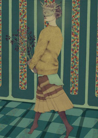 Крехкостта е красота – в магическите илюстрации на Daniela Gallego