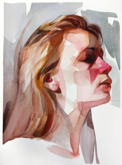 """Абстракция с """"намеци"""" за реализъм – портретите на Nick Runge внушават чувства и настроения"""