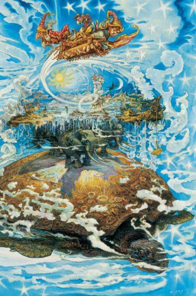 """Откъс от """"Ерик"""" на Тери Пратчет (с приказните илюстрации на Джош Кърби)"""