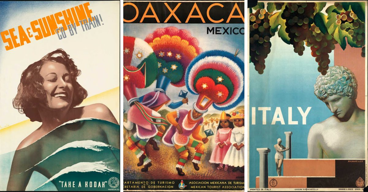 интидж находка: 60 плаката от 20-те, 30-те и 40-те
