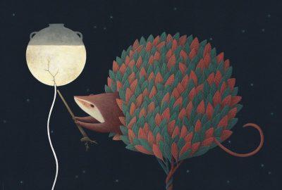 Дуалности и тиха магия – в илюстрации, вдъхновени от мексиканските митове за Луната и Слънцето