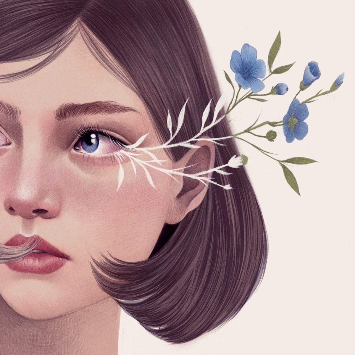 флоралните портрети на Mercedes DeBellard