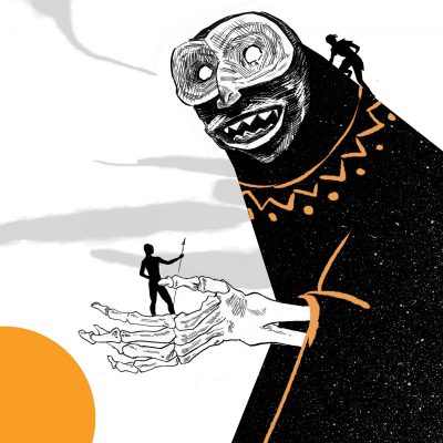 """""""Из мрежите на Анансе"""" – с африканската приказка """"Защо ракът няма глава"""" (+ чудни илюстрации)"""