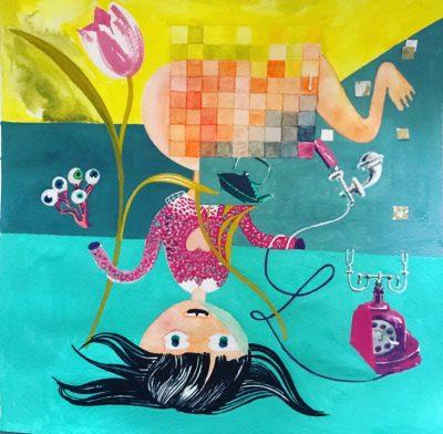 """Откъс (и чудни илюстрации) от """"Приказки 1, 2, 3, 4""""  на Йожен Йонеско"""
