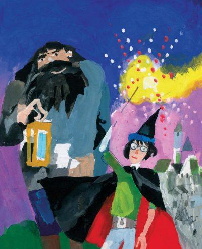 """Любен Зидаров илюстрира юбилейните издания на """"Хари Потър"""". Каним ви на специална изложба"""