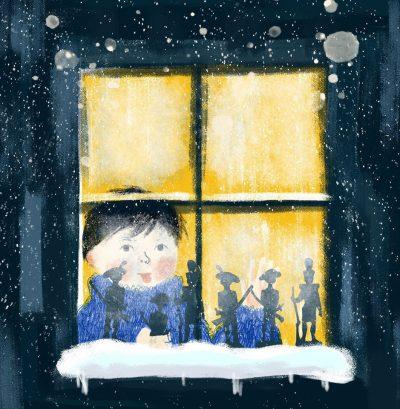 """Откъс от """"Коледата на едно дете в Уелс"""" от Дилън Томас (с приказните илюстрации на Ина Христова)"""