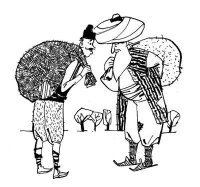 """Откъси (и хитроумни илюстрации) от """"Най-голямата книга за Хитър Петър и Настрадин Ходжа"""""""