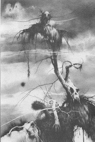 """Откъс от """"Страшни приказки за мрачни вечери 3"""" на Алвин Шварц (с оригиналните илюстрации на Стивън Гемъл)"""