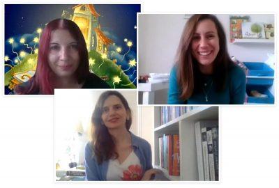 Мая Бочева и Радостина Николова – две приятелки на детското въображение (видео интервю)