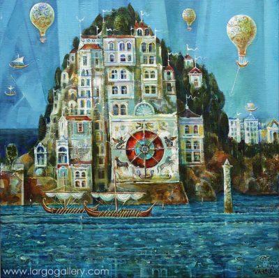 Фантазмемория: изложба – живопис на Валери Ценов
