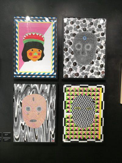 Фабрика за образи: изложбата на Line Across Circle – HORROR VACUI