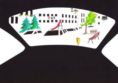 Място до прозореца: чешката художничка Катержина Шеда ни предлага да се включим в градска игра