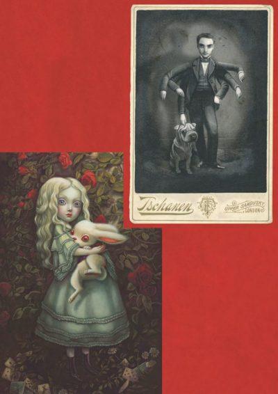 Бенжамен Лакомб в Страната на чудесата – поглед към изкуството на писателя и художника, подарил нови илюстрации (и предговор) на Алиса