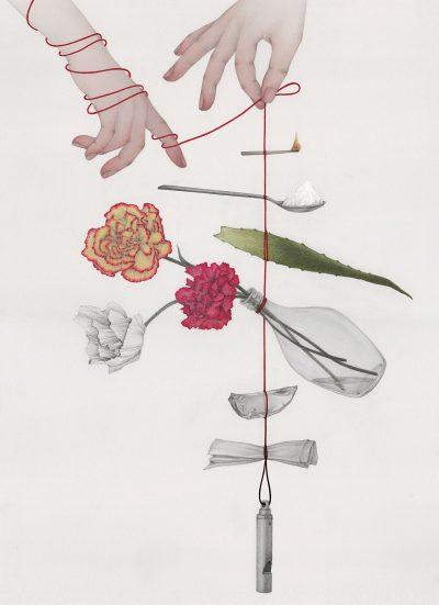 Светът ни висящ на тънка червена нишка – в илюстрациите на Vicki Ling