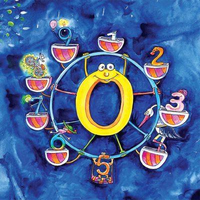 """Из """"Десет тайни за числата знайни"""" от Раймондо Варсано (с приказните илюстрации на Мая Бочева)"""