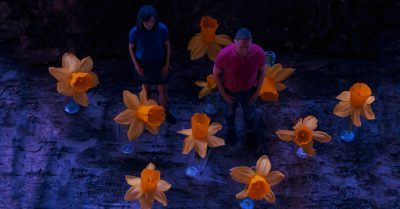 С инсталация от 300 вехнещи цветя Ива Свещарова и Вили Прагер ни канят да си представим началото на края на света
