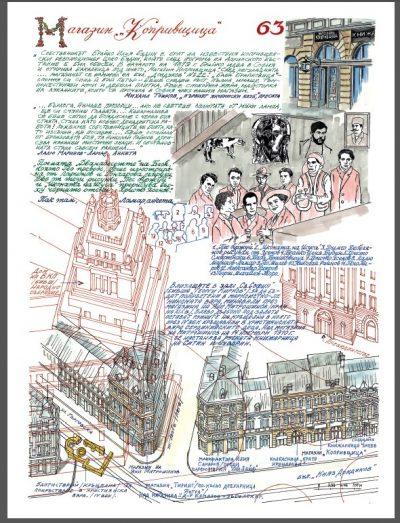 """Из """"Драски по софийските работи"""" –  ръчно рисувана книга, връщаща ни в София от миналото"""