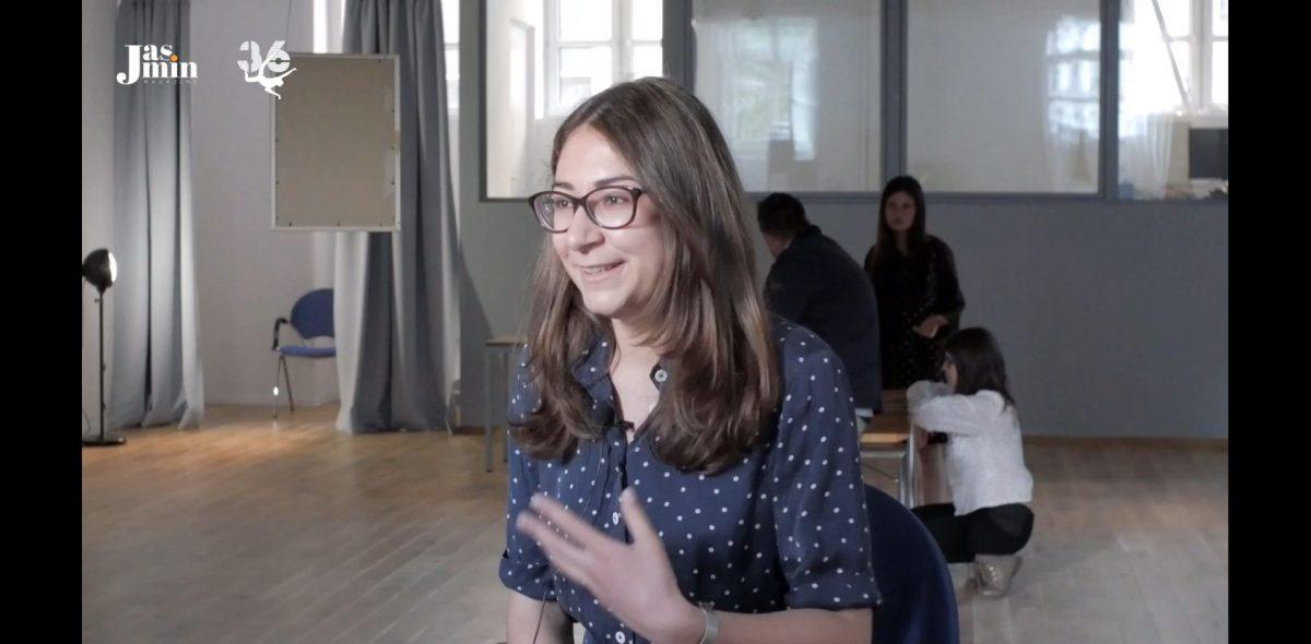 Мартина Новакова пред камерата на Jasmin.bg