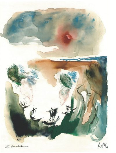 """Из """"Цветя на злото"""" на Шарл Бодлер – с 3 от болезнено-прелестните илюстрациите на Улрих Мертенс"""